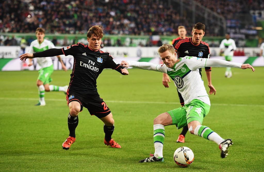 Wolfsburg Hamburg Bundesliga