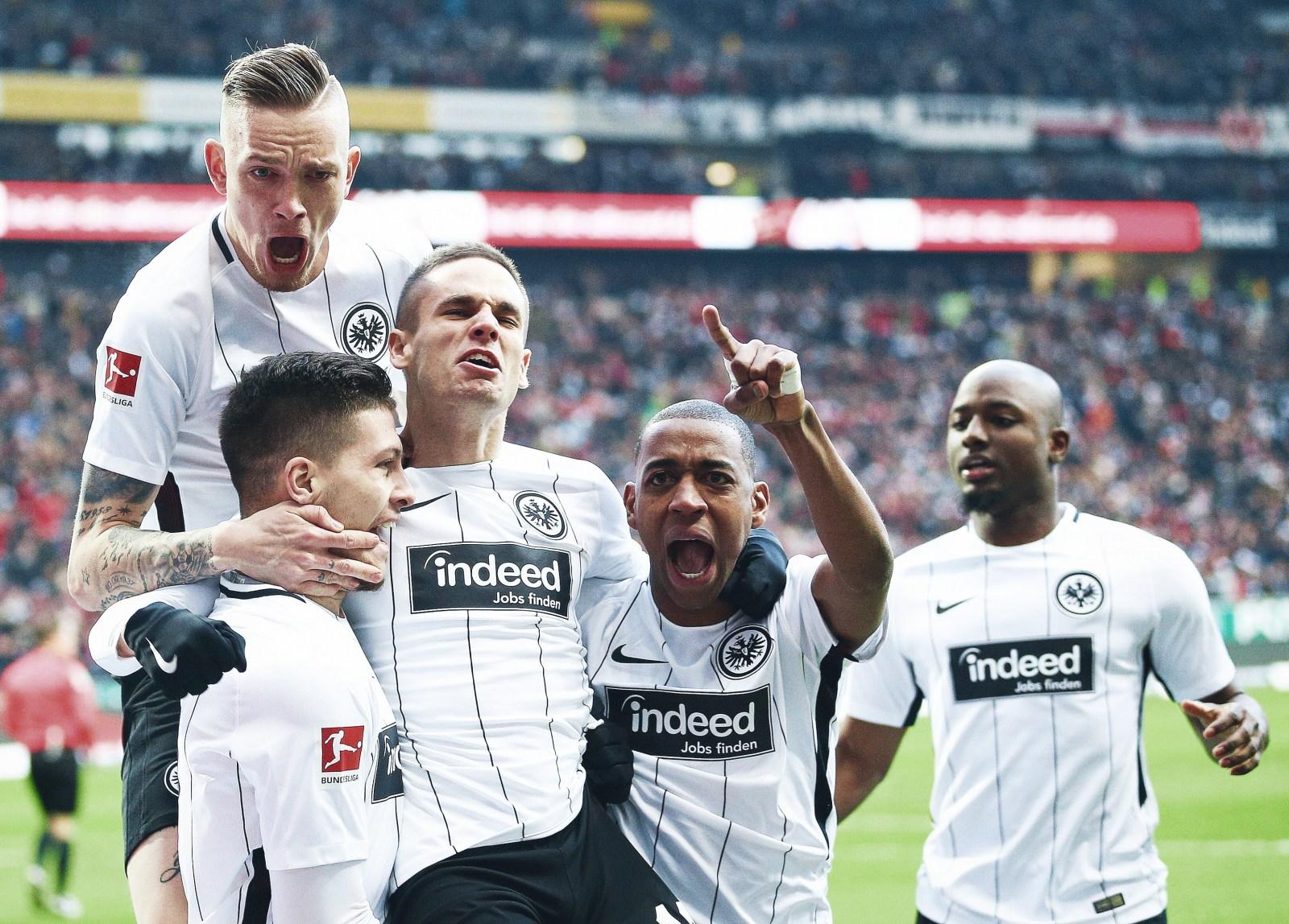 to Eintracht Frankfurt