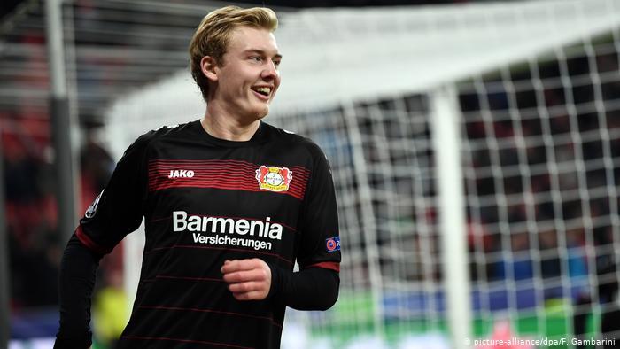 Borussia Dortmund Set to Win Julian Brandt Race